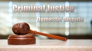 CJ - Domestic Dispute
