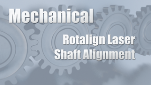 Rotalign Laser Shaft Alignment