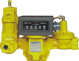 A positive displacement meter is a type of flow meter that requires fluid to mechanically displace components in the meter in order for flow measurement.
