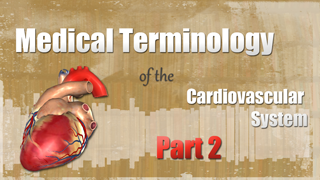 HST-MT -  Medical Terminology of the Cardiovascular System Pt. 2