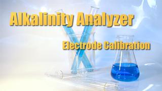 IND-A - Alkalinity Analyzer: Electrode Calibration