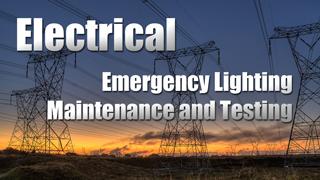 IND-E - Emergency Lighting Maintenance & Testing