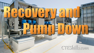 HVAC-P Recovery and Pump Down