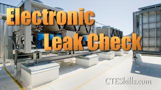 HVAC-P Electronic Leak Check